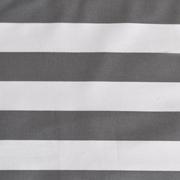Runner Stripe Print Grey and White