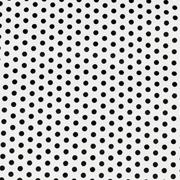 Runner White with Black Polka Dot