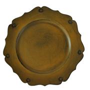 Shabby Under Plate Rust