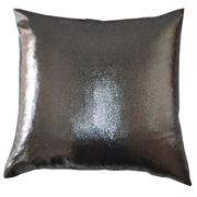 Shimmer Cushion Cover High Shine Silver