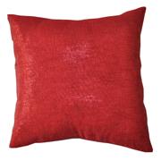 Shimmer Glitter Gauze Cushion Cover Red