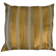 Shimmer Gold and Silver Stripe