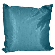 Shot Satin Cushion Cover Dark Blue Large