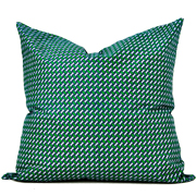Shweshwe Print Cushion Cove L