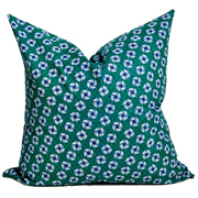 Shweshwe Print Cushion Cover C