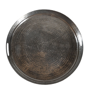 Silver Hammered Tray