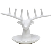 Stag Head on Plate