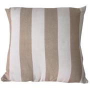 Stone Broad Stripe Cushion Cover Small