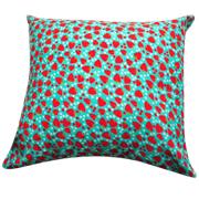 Strawberry Cushion Blue
