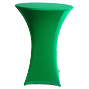 Stretch Cocktail Tablecloth Green
