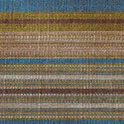 Stripe Weave Runner B Browns Green Turquoise