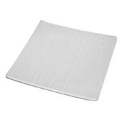 Striped White Platter Bowl
