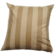 Suede Cushion Cover Beige and Stone Square