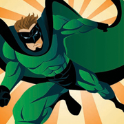 Superhero Lycra Panel C