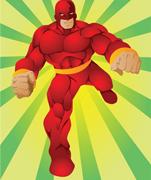 Superhero Lycra Panel D