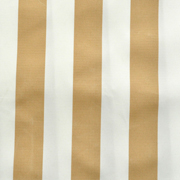 Table Top Kiosk Canopy Beige & Cream Thick Stripe