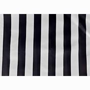 Table Top Kiosk Canopy Black and White Thick Stripe
