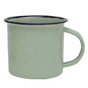 Tin Mug Green Small