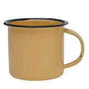 Tin Mug Small Yellow