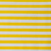 Top Cloth fine Stripe Minimat Yellow and White