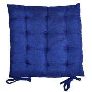 Tuck Cushion Flat Blue