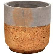 Two Tone Ceramic Pot Large