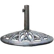 Umbrella Base Cast Metal