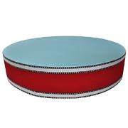 Upholstered Cylinder Poly Riser A