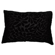 Velvet Rectangle Cushion Cover Floral Detail