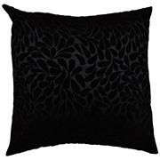 Velvet Square Cushion Cover Floral Detail