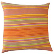Weave Indian Cotton Fine Stripe Cushion Cover