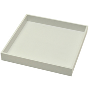White Box Under Plate