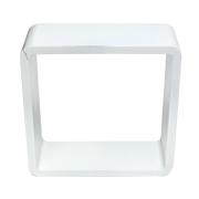 White Riser Cube Round Corner B