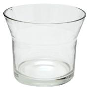 Wide Tapered Pot Vase Short