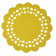 Yellow Felt Placemat Small