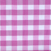 Overlay Gingham Pink and White Large