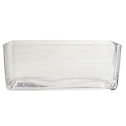 Rectangle Tank Vase 25 x 8 x 10h