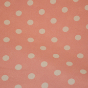 Top Cloth Polka Dot Minimat Baby Pink and White