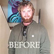 PYT Student: Stuart Smith with his full grown beard.