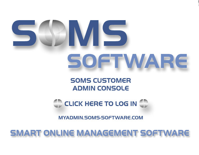 What is the ADMIN CONSOLE SOMS Marketing (PTY) Ltd Tokai