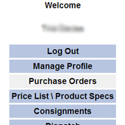 Customer Console - Logged In