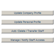 Customer Console - Manage Profiles & Staff