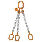 3 Chain Sling triple leg with double master link