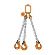 3 Chain sling triple leg with master link sling hook