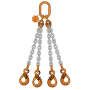 4 Chain sling quad leg with master link safe hook
