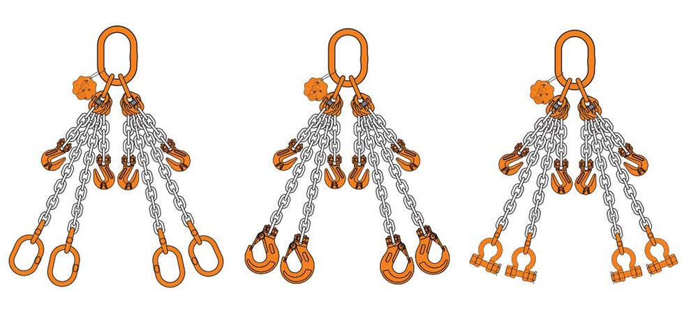 Chain Slings Chain Slings Grade 80 Toco Lifting Germiston
