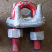 Crossby Wire rope clamp