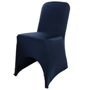 Navy Blue Chaircover