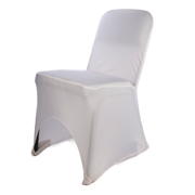 White Chaircover