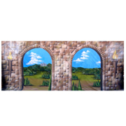 Medieval Window Scene 3